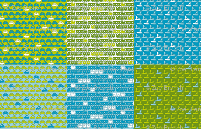 Boy Racer fat quarter_28inX18in