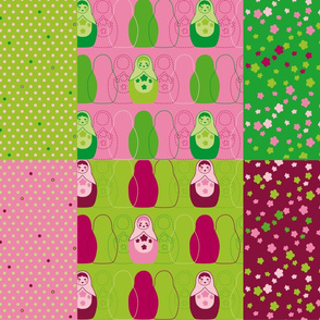 Dolltastic Fat Quarter_28inX18in