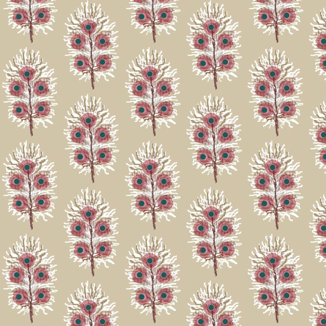 feather white fabric by paragonstudios on Spoonflower - custom fabric