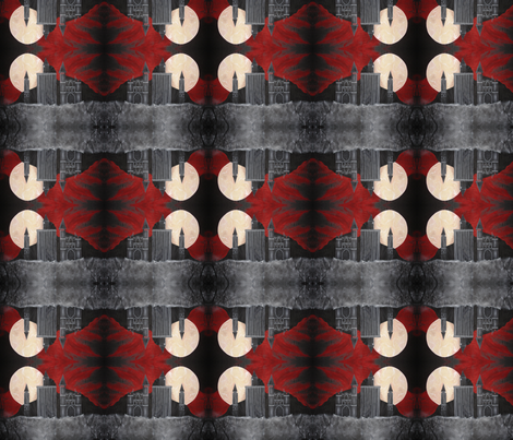 Gothic Backdrop Diamond Sky fabric by midnight_tribe on Spoonflower - custom fabric