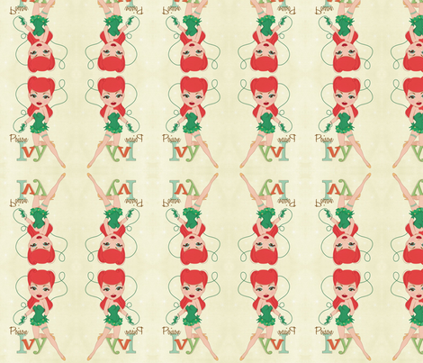 poison ivy fabric by geekinspirations on Spoonflower - custom fabric