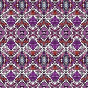 Twisted Fish Net (purple)