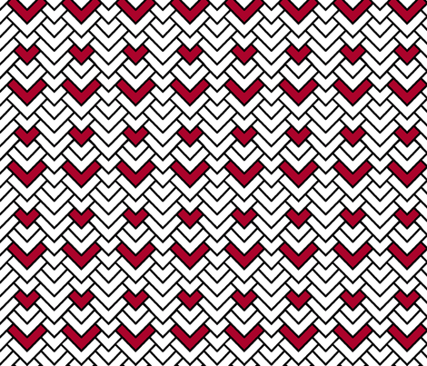 Peppermint Chevron