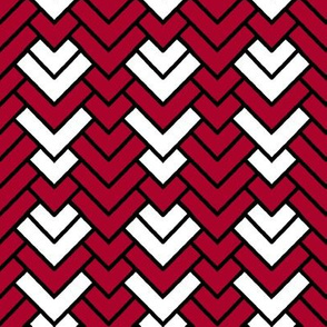 Peppermint Chevron II