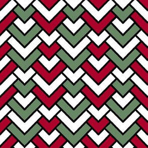 Christmas Chevron