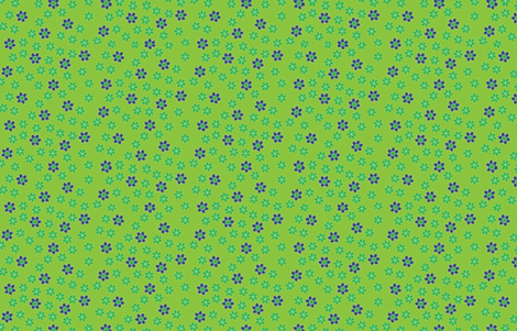 Bloomsday Hooray fabric by zoebrench on Spoonflower - custom fabric