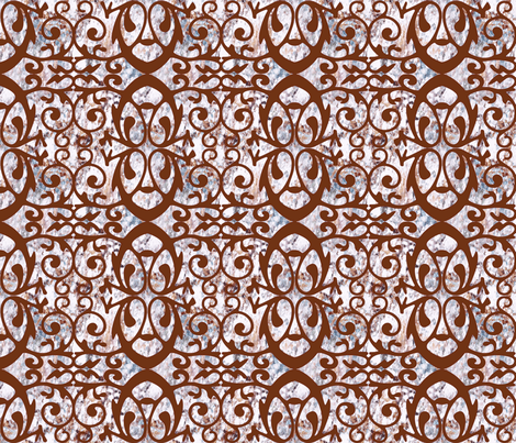 iron gate fabric by keweenawchris on Spoonflower - custom fabric