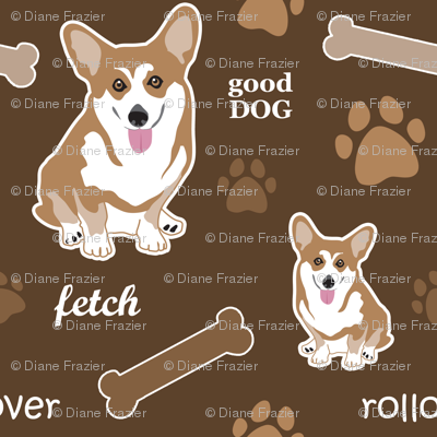 Corgi Brown