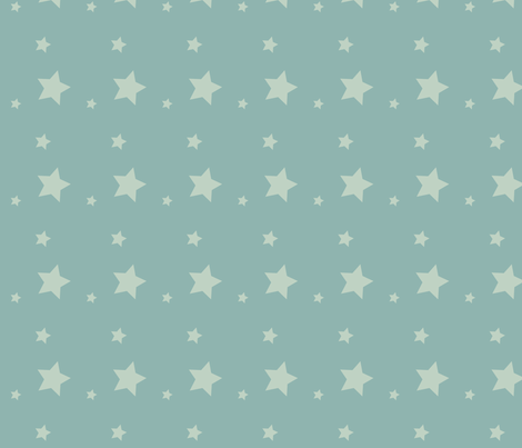 Baby Blue Circles fabric by jbhorsewriter7 on Spoonflower - custom fabric