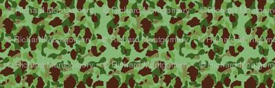 WWII USMC Marine and Army Camouflage