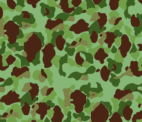 WWII USMC Marine and Army Camouflage fabric by ricraynor on Spoonflower - custom fabric