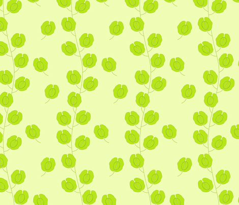 Field Pennycress fabric by roarin_betty on Spoonflower - custom fabric