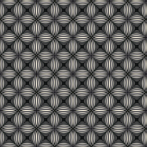 Vintage Black & White Stars fabric by stoflab on Spoonflower - custom fabric