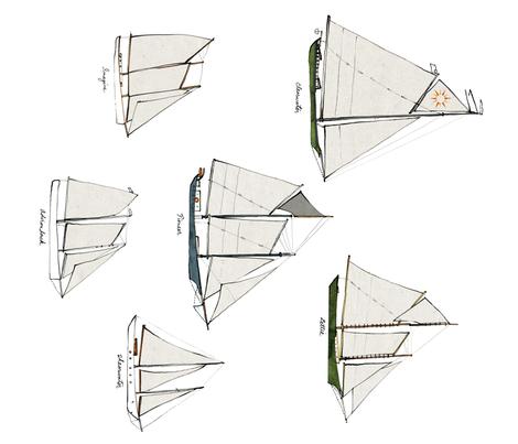 schoonershoriz fabric by bowsprite on Spoonflower - custom fabric