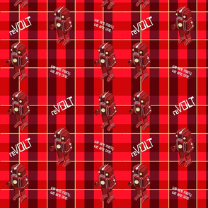 Robot revolt Plaid