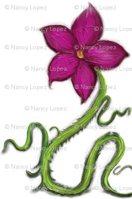 snake_flower