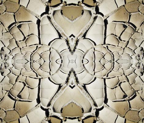 Mud Patterns fabric by hepshiba on Spoonflower - custom fabric