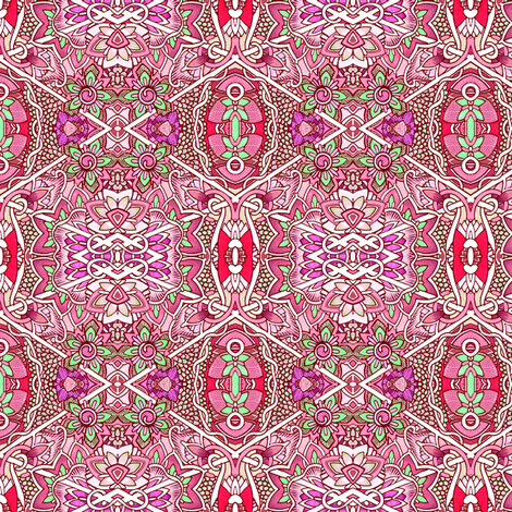 Damsel in Dis Dress fabric by edsel2084 on Spoonflower - custom fabric
