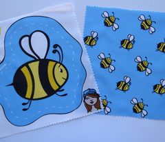Bee Plushie Swatch