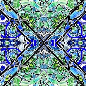 Pseudo Woodblock Tiles