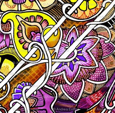 Big Diamond, Little Diamond (purple/yellow version)