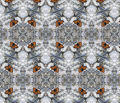 Grand Canyon Butterflies fabric by hepshiba on Spoonflower - custom fabric