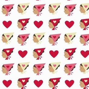valentine kerchief
