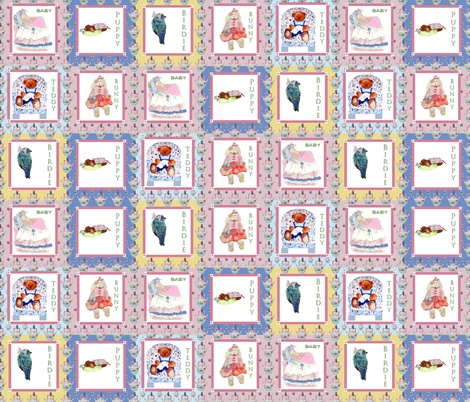Baby Quilt fabric by karenharveycox on Spoonflower - custom fabric