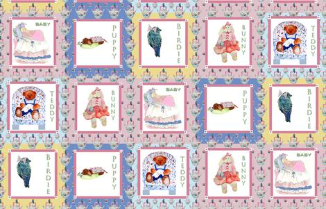 Baby Quilt fabric by karenharveycox on Spoonflower - custom fabric