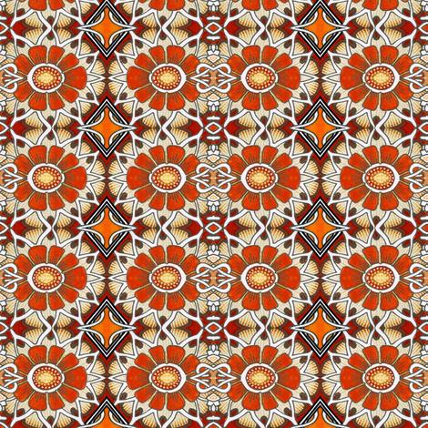 The Daisy Chain (part 3) fabric by edsel2084 on Spoonflower - custom fabric
