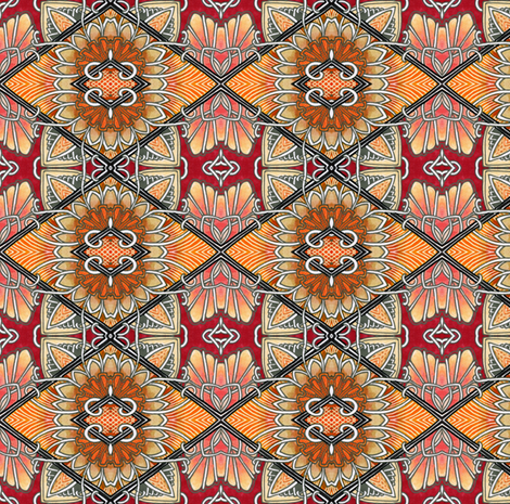 Kamikaze Kimono fabric by edsel2084 on Spoonflower - custom fabric