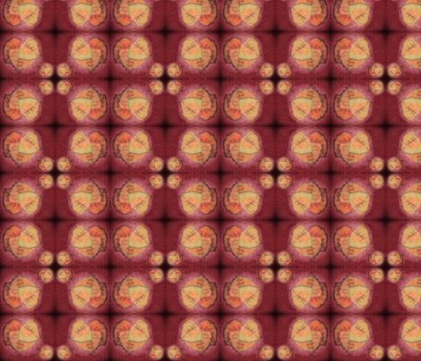 Leaves Glow  fabric by the_gleesome_besom on Spoonflower - custom fabric