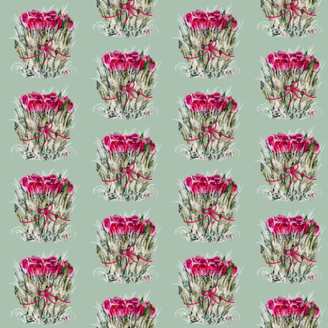 Dried Roses fabric by karenharveycox on Spoonflower - custom fabric