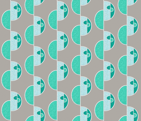 Iced biscuits you can't eat fabric by su_g on Spoonflower - custom fabric