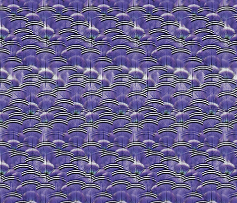 woodduck grape fabric by glimmericks on Spoonflower - custom fabric