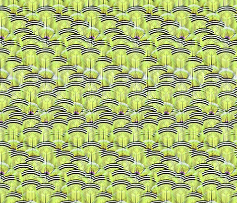 woodduck peridot fabric by glimmericks on Spoonflower - custom fabric