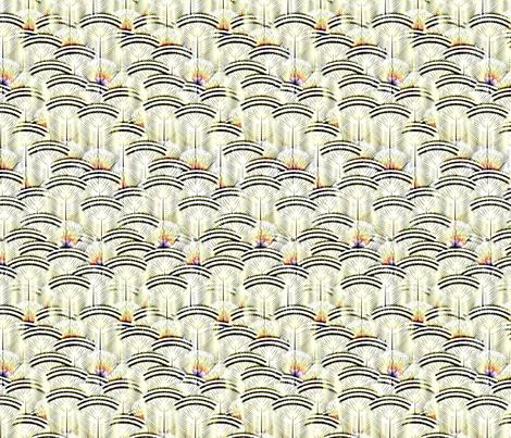 woodduck lemon frost fabric by glimmericks on Spoonflower - custom fabric