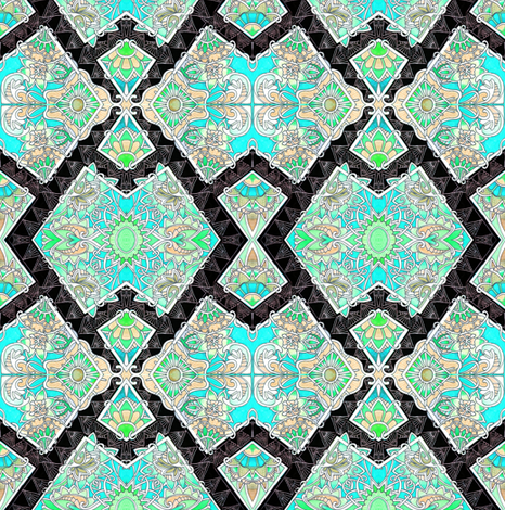 The Puzzler fabric by edsel2084 on Spoonflower - custom fabric