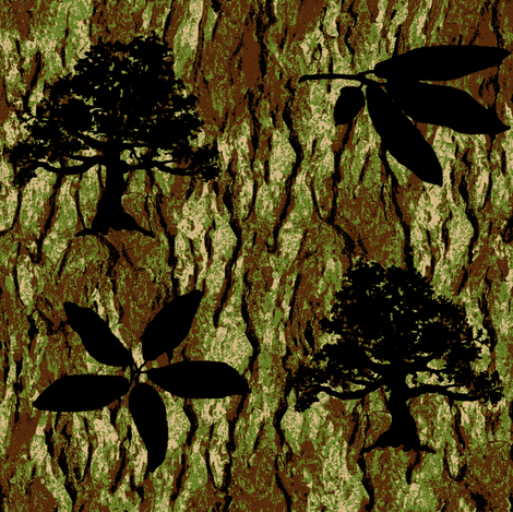 Live Oak Camo fabric by paragonstudios on Spoonflower - custom fabric