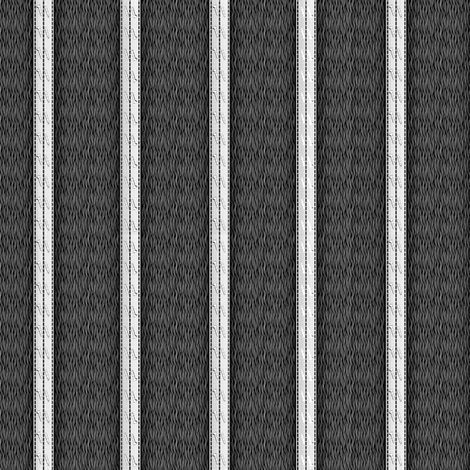 pinstripe black and white fabric by glimmericks on Spoonflower - custom fabric