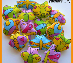 Butterfly Plushie Swatch