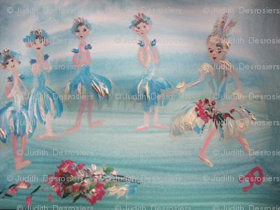 Ballet curtain call