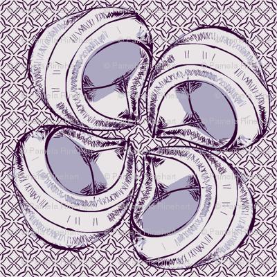 sean's shellflower periwinkle