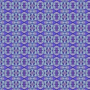 Blue Deco Stripes