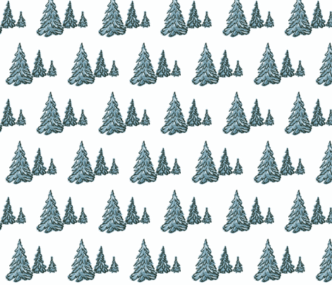 fir_trees-ch fabric by vinkeli on Spoonflower - custom fabric