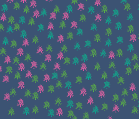 Evergreens fabric by maplewooddesignstudio on Spoonflower - custom fabric
