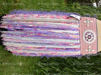 Lavender Tribal Belt