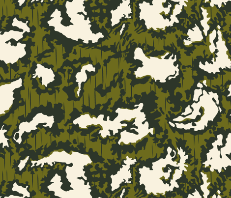 Red Dawn Camo fabric by ricraynor on Spoonflower - custom fabric