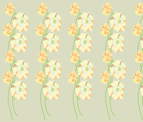 tall flowers fabric by rcm-designs on Spoonflower - custom fabric
