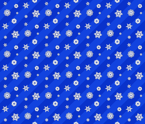 Paper Snowflakes fabric by nixongraphix on Spoonflower - custom fabric